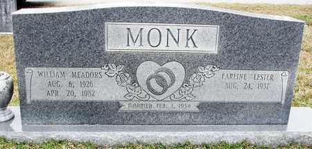 MONK, WILLIAM MEADORS - Claiborne County, Louisiana | WILLIAM MEADORS MONK - Louisiana Gravestone Photos