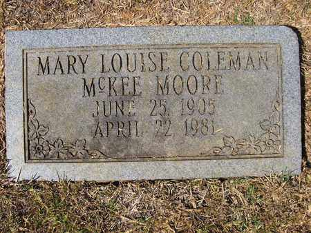 MOORE, MARY LOUISE - Claiborne County, Louisiana | MARY LOUISE MOORE - Louisiana Gravestone Photos