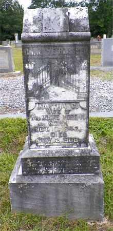 MORGAN, MARTHA C - Claiborne County, Louisiana | MARTHA C MORGAN - Louisiana Gravestone Photos