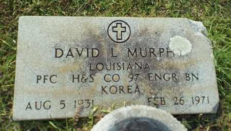 MURPHY, DAVID L (VETERAN KOR) - Claiborne County, Louisiana | DAVID L (VETERAN KOR) MURPHY - Louisiana Gravestone Photos