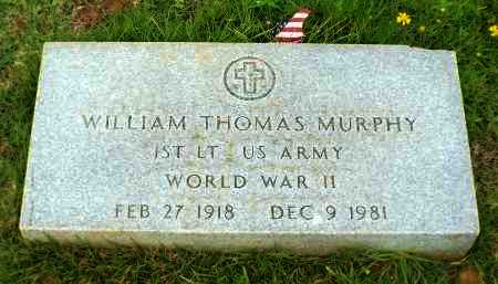 MURPHY, WILLIAM THOMAS (VETERAN WWII) - Claiborne County, Louisiana | WILLIAM THOMAS (VETERAN WWII) MURPHY - Louisiana Gravestone Photos