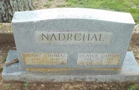 CAUSEY NADRCHAL, EUNICE - Claiborne County, Louisiana | EUNICE CAUSEY NADRCHAL - Louisiana Gravestone Photos