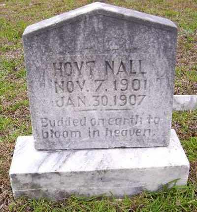 NALL, HOYT - Claiborne County, Louisiana | HOYT NALL - Louisiana Gravestone Photos