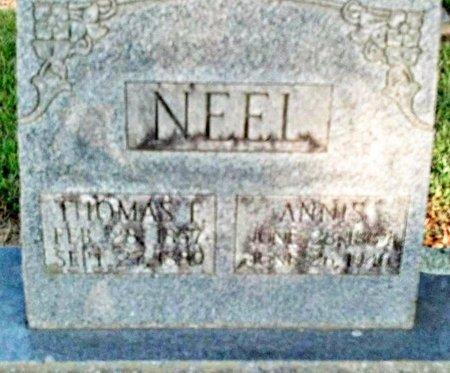 JARRELL NEEL, ANNIS - Claiborne County, Louisiana   ANNIS JARRELL NEEL - Louisiana Gravestone Photos