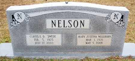 WELLBORN NELSON, MARY JUSTINA - Claiborne County, Louisiana | MARY JUSTINA WELLBORN NELSON - Louisiana Gravestone Photos