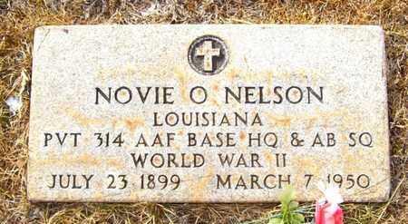 NELSON, NOVIE O (VETERAN WWII) - Claiborne County, Louisiana   NOVIE O (VETERAN WWII) NELSON - Louisiana Gravestone Photos