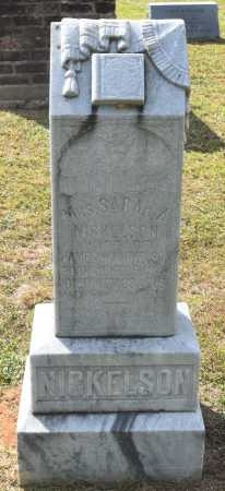 NICKELSON, SARAH A,MRS - Claiborne County, Louisiana | SARAH A,MRS NICKELSON - Louisiana Gravestone Photos