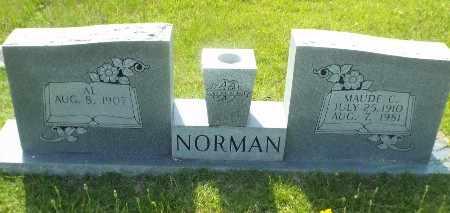 NORMAN, MAUDE - Claiborne County, Louisiana   MAUDE NORMAN - Louisiana Gravestone Photos