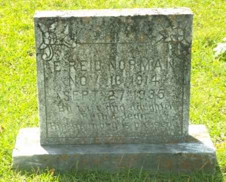 NORMAN, E REID - Claiborne County, Louisiana   E REID NORMAN - Louisiana Gravestone Photos