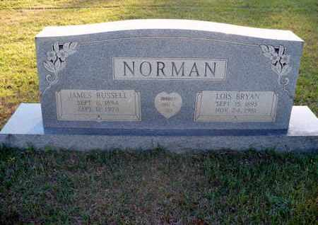 NORMAN, JAMES RUSSELL - Claiborne County, Louisiana | JAMES RUSSELL NORMAN - Louisiana Gravestone Photos