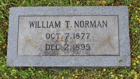 NORMAN, WILLIAM T - Claiborne County, Louisiana | WILLIAM T NORMAN - Louisiana Gravestone Photos