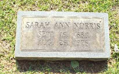DELOACH NORRIS, SARAH ANN - Claiborne County, Louisiana | SARAH ANN DELOACH NORRIS - Louisiana Gravestone Photos