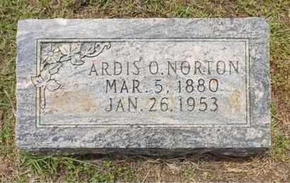 NORTON, ARDIS O - Claiborne County, Louisiana | ARDIS O NORTON - Louisiana Gravestone Photos