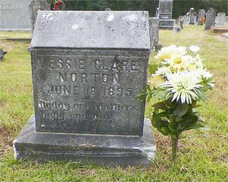NORTON, VESSIE CLARE - Claiborne County, Louisiana   VESSIE CLARE NORTON - Louisiana Gravestone Photos