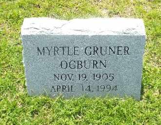 OGBURN, MYRTLE - Claiborne County, Louisiana | MYRTLE OGBURN - Louisiana Gravestone Photos