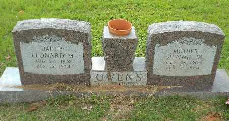 OWENS, JENNIE M - Claiborne County, Louisiana   JENNIE M OWENS - Louisiana Gravestone Photos