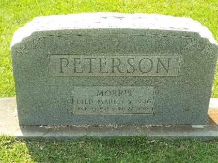PETERSON, MORRIS - Claiborne County, Louisiana | MORRIS PETERSON - Louisiana Gravestone Photos