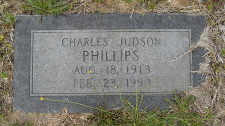 PHILLIPS, CHARLES JUDSON - Claiborne County, Louisiana | CHARLES JUDSON PHILLIPS - Louisiana Gravestone Photos
