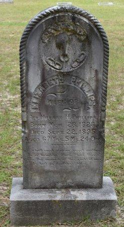 PHILLIPS, ELIZABETH - Claiborne County, Louisiana | ELIZABETH PHILLIPS - Louisiana Gravestone Photos