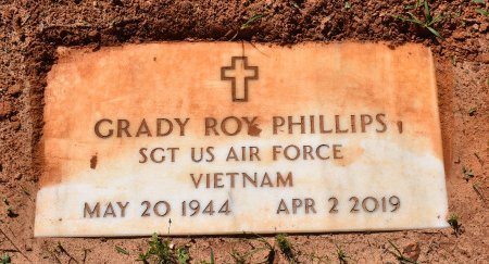 PHILLIPS, GRADY ROY (VETERAN VIET) - Claiborne County, Louisiana | GRADY ROY (VETERAN VIET) PHILLIPS - Louisiana Gravestone Photos