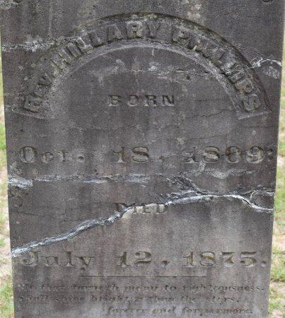 PHILLIPS, HILLARY H, REV (CLOSE UP) - Claiborne County, Louisiana | HILLARY H, REV (CLOSE UP) PHILLIPS - Louisiana Gravestone Photos