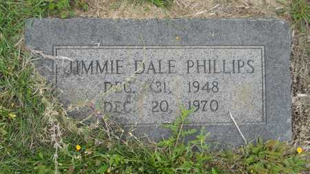 PHILLIPS, JIMMIE DALE - Claiborne County, Louisiana | JIMMIE DALE PHILLIPS - Louisiana Gravestone Photos