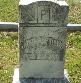 PHIPPS, JOHN R - Claiborne County, Louisiana | JOHN R PHIPPS - Louisiana Gravestone Photos