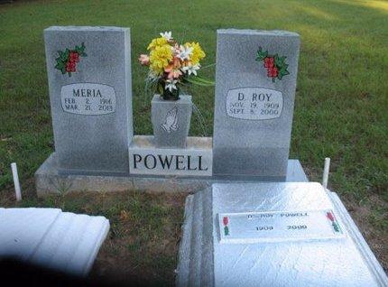 POWELL, MERIA - Claiborne County, Louisiana | MERIA POWELL - Louisiana Gravestone Photos