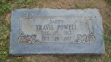 POWELL, TRAVIS - Claiborne County, Louisiana | TRAVIS POWELL - Louisiana Gravestone Photos