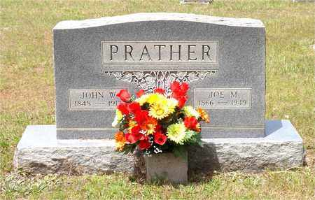 PRATHER, JOHN W - Claiborne County, Louisiana   JOHN W PRATHER - Louisiana Gravestone Photos