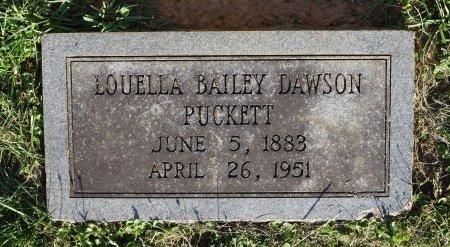 DAWSON, LOUELLA - Claiborne County, Louisiana | LOUELLA DAWSON - Louisiana Gravestone Photos