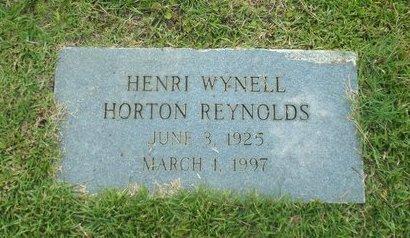 REYNOLDS, HENRI WYNELL - Claiborne County, Louisiana   HENRI WYNELL REYNOLDS - Louisiana Gravestone Photos