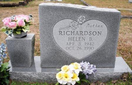 RICHARDSON, HELEN B - Claiborne County, Louisiana | HELEN B RICHARDSON - Louisiana Gravestone Photos