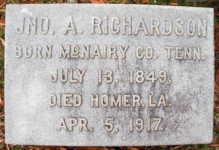 RICHARDSON, JNO A - Claiborne County, Louisiana   JNO A RICHARDSON - Louisiana Gravestone Photos