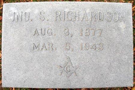 RICHARDSON, JNO S - Claiborne County, Louisiana   JNO S RICHARDSON - Louisiana Gravestone Photos