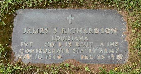 RICHARDSON, JAMES SANDERS (VETERAN CSA) - Claiborne County, Louisiana | JAMES SANDERS (VETERAN CSA) RICHARDSON - Louisiana Gravestone Photos