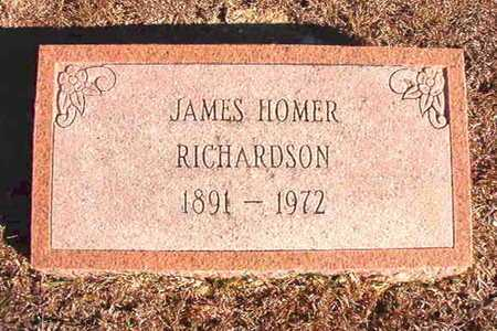 RICHARDSON, JAMES HOMER - Claiborne County, Louisiana | JAMES HOMER RICHARDSON - Louisiana Gravestone Photos