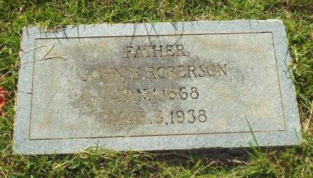 ROBERSON, JOHN - Claiborne County, Louisiana | JOHN ROBERSON - Louisiana Gravestone Photos