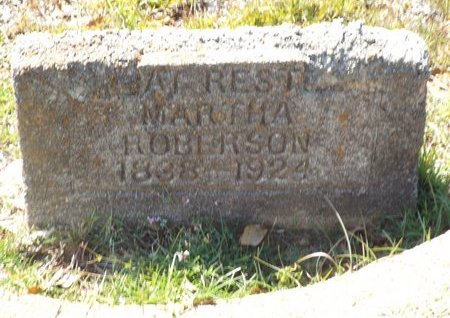 ROBERSON, MARTHA - Claiborne County, Louisiana   MARTHA ROBERSON - Louisiana Gravestone Photos
