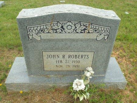 ROBERTS, JOHN R - Claiborne County, Louisiana | JOHN R ROBERTS - Louisiana Gravestone Photos