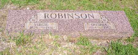 ROBINSON, VIRGIL - Claiborne County, Louisiana | VIRGIL ROBINSON - Louisiana Gravestone Photos