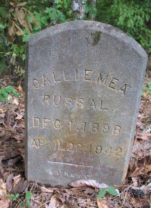 RUSSAL, CALLIE MEA - Claiborne County, Louisiana | CALLIE MEA RUSSAL - Louisiana Gravestone Photos