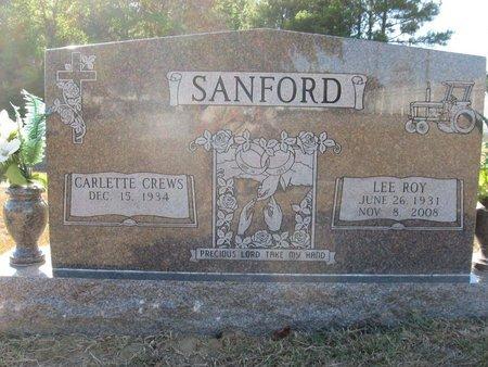 SANFORD, LEE ROY - Claiborne County, Louisiana | LEE ROY SANFORD - Louisiana Gravestone Photos