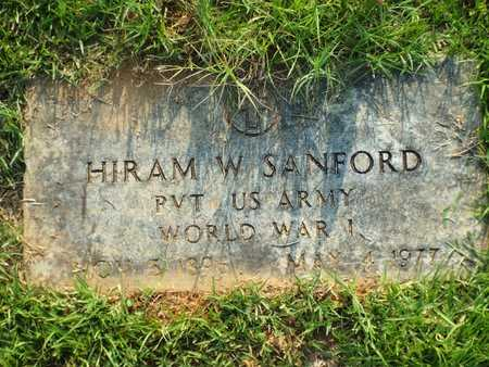 SANFORD, HIRAM W (VETERAN WWI) - Claiborne County, Louisiana   HIRAM W (VETERAN WWI) SANFORD - Louisiana Gravestone Photos