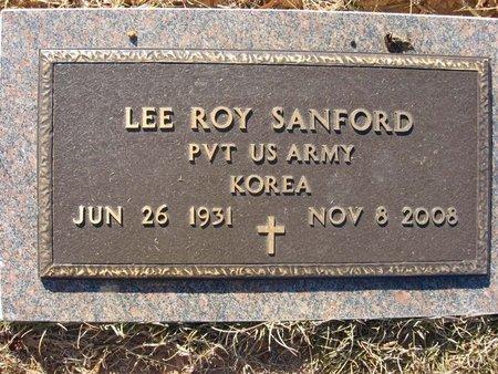 SANFORD, LEE ROY (VETERAN KOR) - Claiborne County, Louisiana   LEE ROY (VETERAN KOR) SANFORD - Louisiana Gravestone Photos