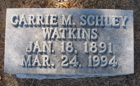MITCHELL SCHLEY, CARRIE - Claiborne County, Louisiana | CARRIE MITCHELL SCHLEY - Louisiana Gravestone Photos