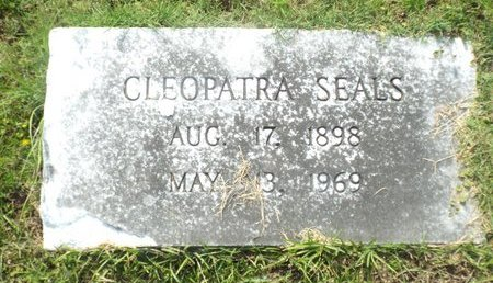SEALS, CLEOPATRA - Claiborne County, Louisiana | CLEOPATRA SEALS - Louisiana Gravestone Photos