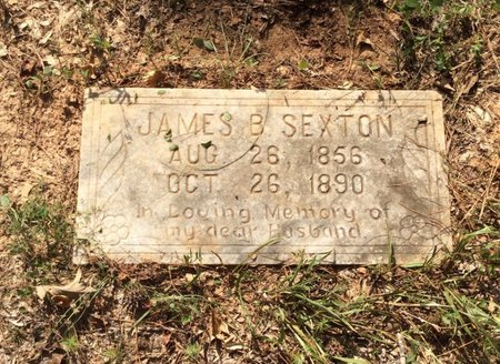 SEXTON, JAMES B - Claiborne County, Louisiana | JAMES B SEXTON - Louisiana Gravestone Photos