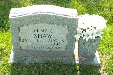 SHAW, ERMA C - Claiborne County, Louisiana | ERMA C SHAW - Louisiana Gravestone Photos