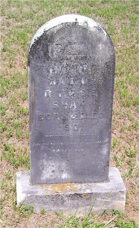 SHAW, INFANT DAUGHTER - Claiborne County, Louisiana | INFANT DAUGHTER SHAW - Louisiana Gravestone Photos